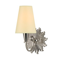 Hudson Valley Lighting Bleecker 1 Light Wall Sconce in Polished Nickel 5591-PN