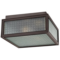 Hudson Valley Lighting Freemont 2 Light Flush Mount in Old Bronze 5610-OB