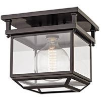 Hudson Valley 5611-OB Rutherford 1 Light 11 inch Old Bronze Semi-Flush Ceiling Light Transluscent