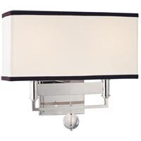 Hudson Valley 5642-PN Gresham Park 2 Light 13 inch Polished Nickel Wall Sconce Wall Light