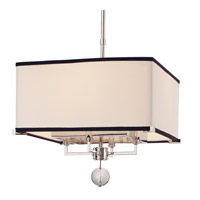 Gresham Park 4 Light 14 inch Polished Nickel Pendant Ceiling Light