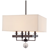 Hudson Valley Lighting Gresham Park 4 Light Chandelier in Old Bronze 5645-OB
