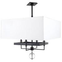 Hudson Valley 5646-OB Gresham Park 4 Light 24 inch Old Bronze Chandelier Ceiling Light