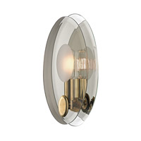 Hudson Valley Lighting Galway 1 Light Wall Sconce in Aged Brass 5711-AGB