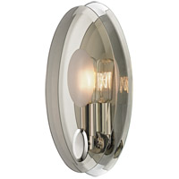 Hudson Valley Lighting Galway 1 Light Wall Sconce in Polished Nickel 5711-PN