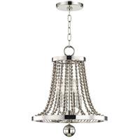 Hudson Valley 5714-PN Spool 4 Light 14 inch Polished Nickel Chandelier Ceiling Light