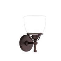 Hudson Valley Lighting Hamilton 1 Light Bath And Vanity in Old Bronze 5801-OB