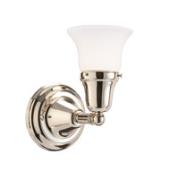Hudson Valley 581-PN-341 Edison 1 Light 6 inch Polished Nickel Bath And Vanity Wall Light in 341