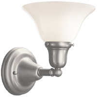 Hudson Valley 581-SN-415 Edison 1 Light 8 inch Satin Nickel Bath And Vanity Wall Light in 415