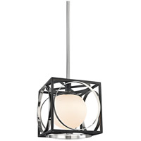 Hudson Valley 5810-PN Wadsworth 1 Light 10 inch Polished Nickel Pendant Ceiling Light