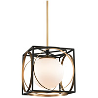 Wadsworth 1 Light 14 inch Aged Brass Pendant Ceiling Light