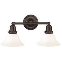 Hudson Valley 582-OB-415 Edison 2 Light 18 inch Old Bronze Bath And Vanity Wall Light in 415