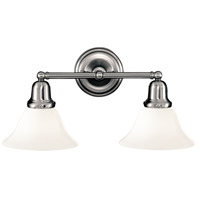 Hudson Valley 582-PN-415 Edison 2 Light 18 inch Polished Nickel Bath And Vanity Wall Light in 415
