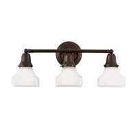 Hudson Valley Lighting Edison 3 Light Bath And Vanity in Old Bronze 583-OB-226 photo thumbnail