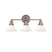 Edison 3 Light 21 inch Polished Nickel Bath And Vanity Wall Light in 415