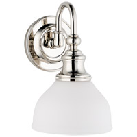 Sutton 1 Light 7 inch Polished Nickel Bath And Vanity Wall Light