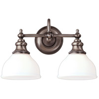 Hudson Valley 5902-AN Sutton 2 Light 16 inch Antique Nickel Bath And Vanity Wall Light  alternative photo thumbnail