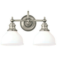 Sutton 2 Light 16 inch Antique Nickel Bath And Vanity Wall Light