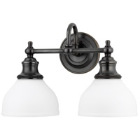 Sutton 2 Light 16 inch Old Bronze Bath And Vanity Wall Light