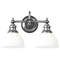 Sutton 2 Light 16 inch Polished Nickel Bath And Vanity Wall Light