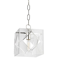 Travis 1 Light 9 inch Polished Nickel Pendant Ceiling Light