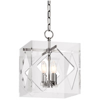 Travis 4 Light 12 inch Polished Nickel Pendant Ceiling Light
