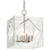 Hudson Valley Lighting Travis 8 Light Pendant in Polished Nickel 5916-PN