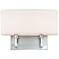Grayson 2 Light 13 inch Polished Nickel Wall Sconce Wall Light