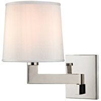 Fairport 1 Light 8 inch Polished Nickel Wall Sconce Wall Light