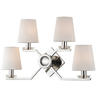Hudson Valley Lighting Baker 4 Light Wall Sconce in Polished Nickel 5940-PN