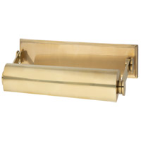 Hudson Valley 6008-AGB Merrick 60 watt 11 inch Aged Brass Picture Light Wall Light