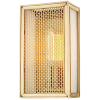 Hudson Valley 6010-AGB Ashford 1 Light 6 inch Aged Brass ADA Wall Sconce Wall Light
