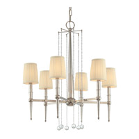Hudson Valley Lighting Laurel 6 Light Chandelier in Polished Nickel 6016-PN