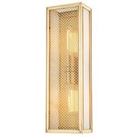 Hudson Valley 6018-AGB Ashford 2 Light 6 inch Aged Brass ADA Wall Sconce Wall Light