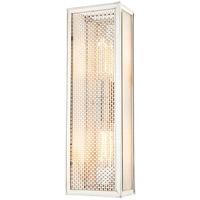 Hudson Valley 6018-PN Ashford 2 Light 6 inch Polished Nickel ADA Wall Sconce Wall Light