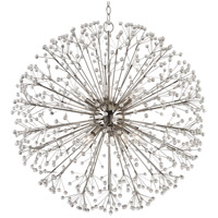 Dunkirk 10 Light 30 inch Polished Nickel Chandelier Ceiling Light