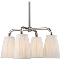 Hudson Valley Malden 4 Light Chandelier in Polished Nickel 6064-PN
