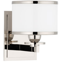 Hudson Valley 6101-PN Basking Ridge 1 Light 6 inch Polished Nickel Bath And Vanity Wall Light photo thumbnail