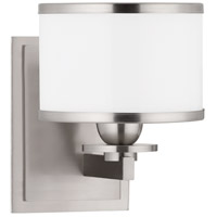 Basking Ridge 1 Light 6 inch Satin Nickel Bath And Vanity Wall Light