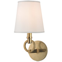 Malibu 1 Light 7 inch Aged Brass Wall Sconce Wall Light