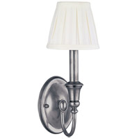 Hudson Valley Lighting Huntington 1 Light Wall Sconce in Polished Nickel 6111-PN