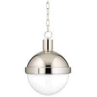 Lambert 1 Light 13 inch Polished Nickel Pendant Ceiling Light