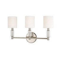 Hudson Valley Lighting Glacier 3 Light Wall Sconce in Polished Nickel 6123-PN