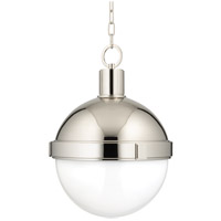 Lambert 1 Light 15 inch Polished Nickel Pendant Ceiling Light