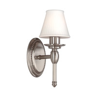 Orleans 1 Light 6 inch Satin Nickel Bath And Vanity Wall Light