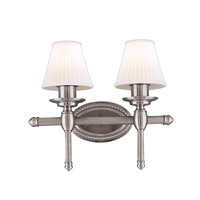 Hudson Valley Lighting Orleans 2 Light Bath And Vanity in Satin Nickel 6162-SN