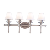 Hudson Valley Lighting Orleans 4 Light Bath And Vanity in Satin Nickel 6164-SN