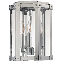 Hudson Valley Lighting Roxbury 3 Light Semi Flush in Polished Nickel 6200-PN