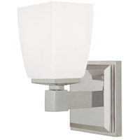 Soho 1 Light 5 inch Satin Nickel Bath And Vanity Wall Light