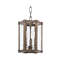 Roxbury 3 Light 10 inch Distressed Bronze Pendant Ceiling Light